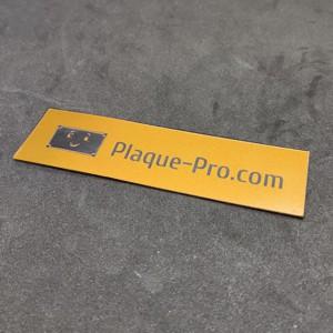 Plaque de boite aux lettres PVC