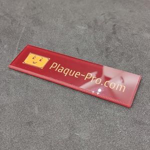 Plaque de boite aux lettres Plexigas